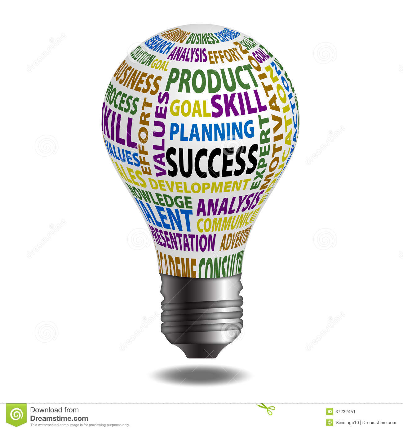 Success Bulb Stock Image  Image 37232451