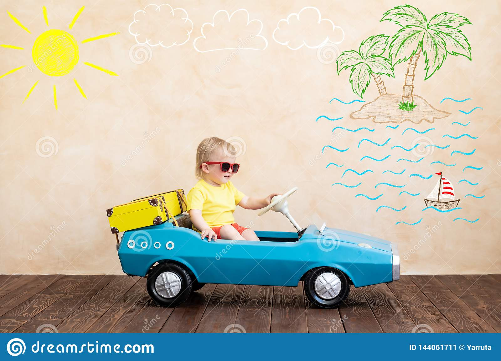 Summer Vacation And Travel Concept Stock Image Image Of Leisure Play 144061711