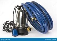 Sump Pump And Water Hose Royalty Free Stock Photos - Image ...