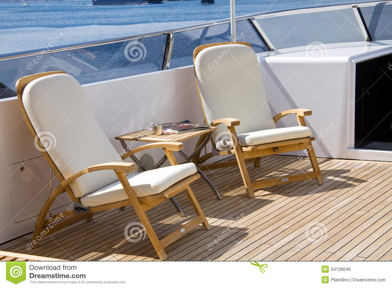 marine deck chairs modern leather armchair boat images