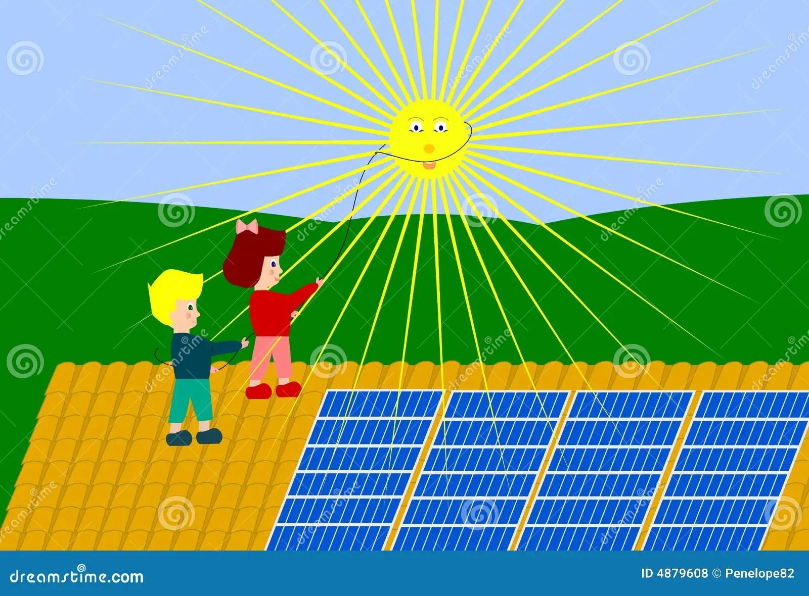Sun Energy Stock Illustration Illustration Of Discover
