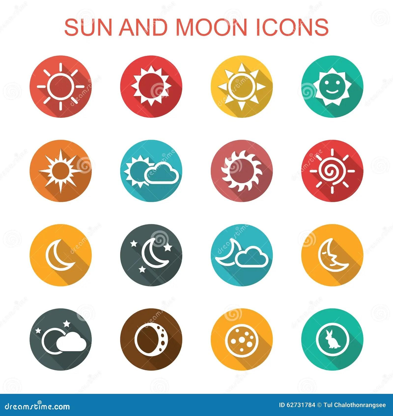 Sun moon icon