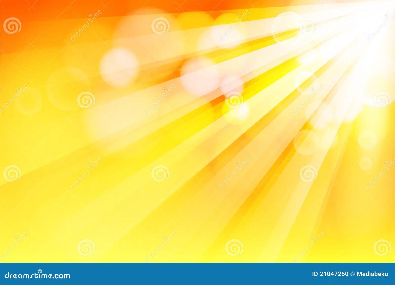sun ray stock vector illustration of bright effect