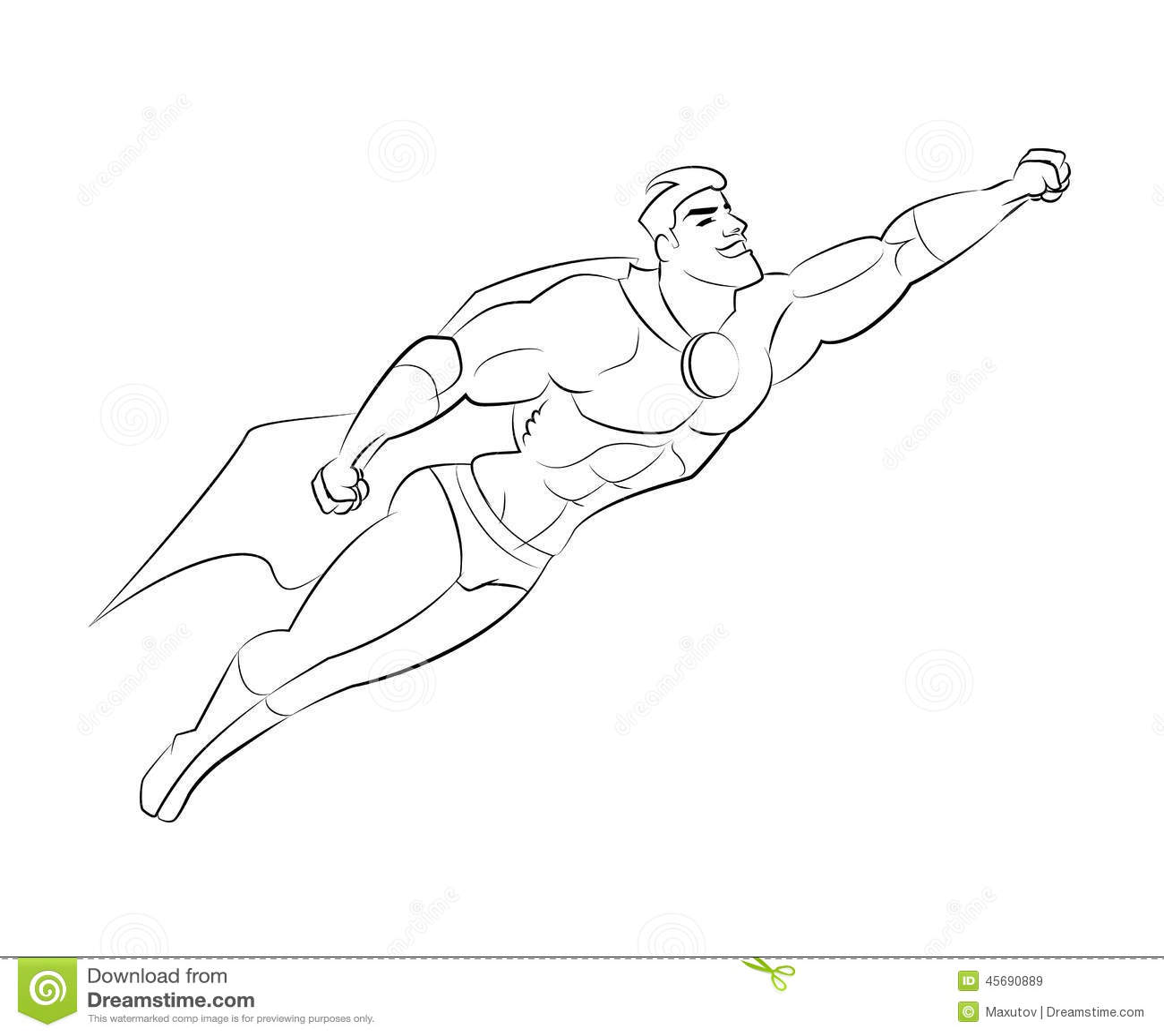 Superhero Stock Vector Illustration Of Superhero Hero