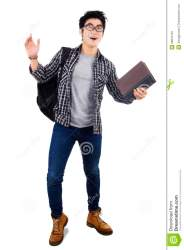 Surprised male student stock image Image of cheerful 38875723