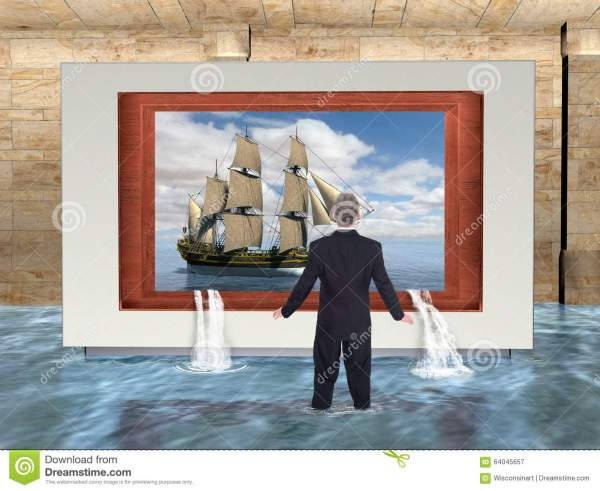 Surreal Business Marketing Water Stock