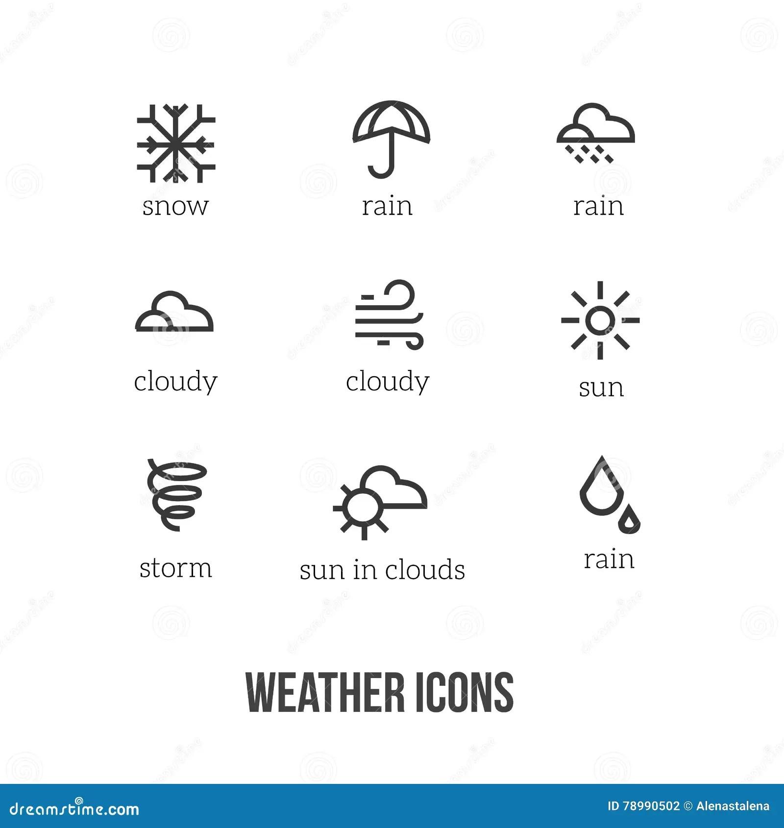 Survivez Aux Icones Avec Des Symboles Principaux De Neige