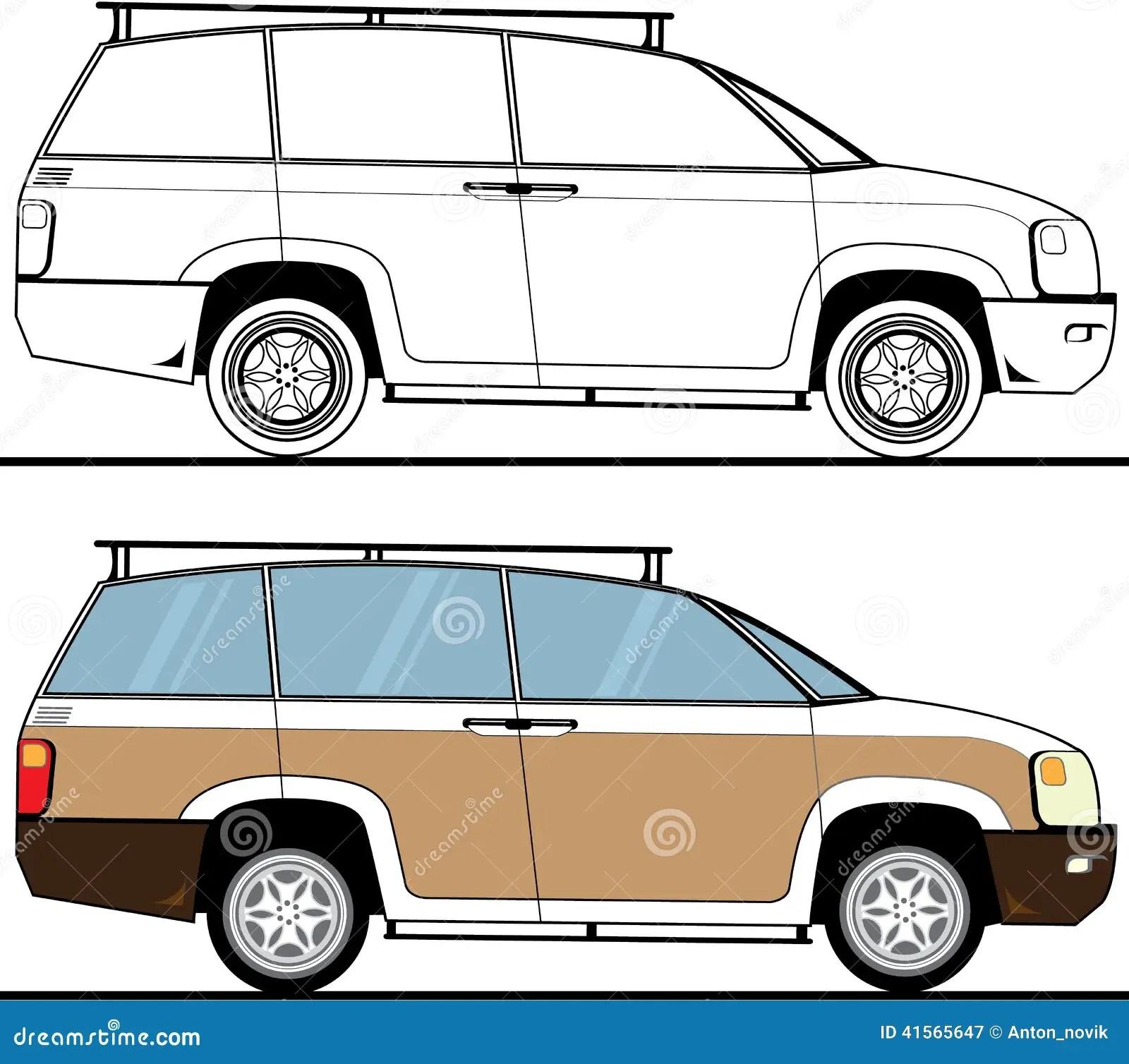 vehicle diagram clip art solid mensuration formulas with diagrams suv color stock vector image of auto alternative future