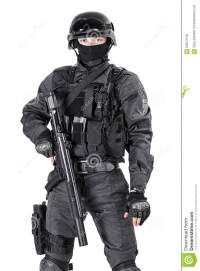 SWAT Police Officer Stock Photo - Image: 60977018