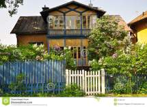 Swedish Traditional House Stock Of