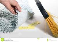 Swept under the rug stock image. Image of secrets, swept