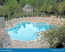 Swimming Pool Hotel Newport Bay Club Editorial Stock