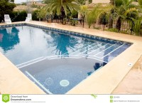 Swimming pool with jacuzzi stock photo. Image of swimming ...