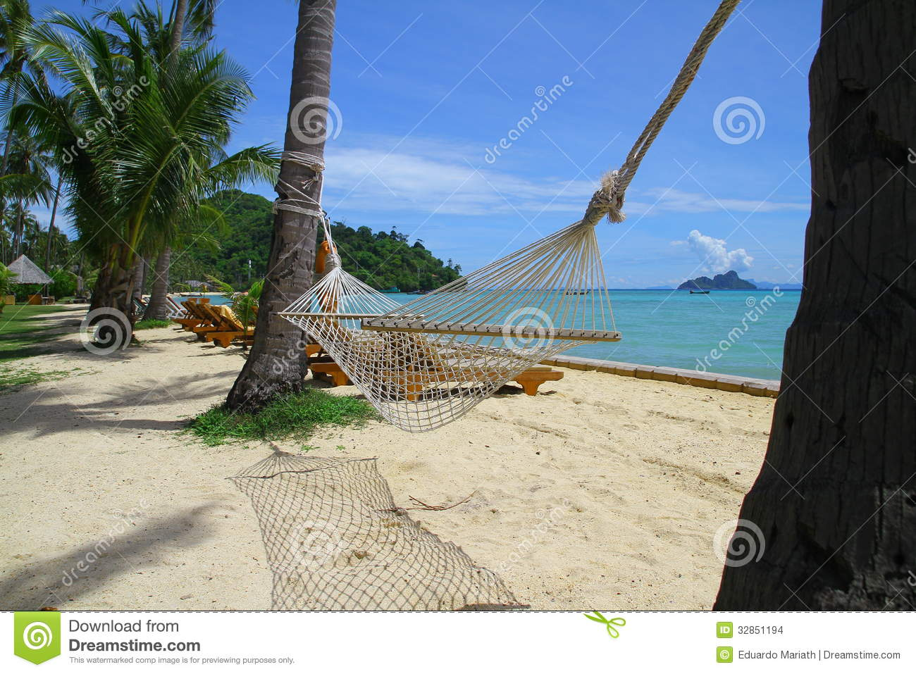 swing chair thailand scandinavian dining chairs at the beach stock images image 32851194