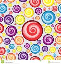 Swirl Circle Background Pattern Design Stock Illustration ...