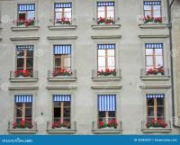 Swiss Windows stock photo. Image of blue, symmetry ...
