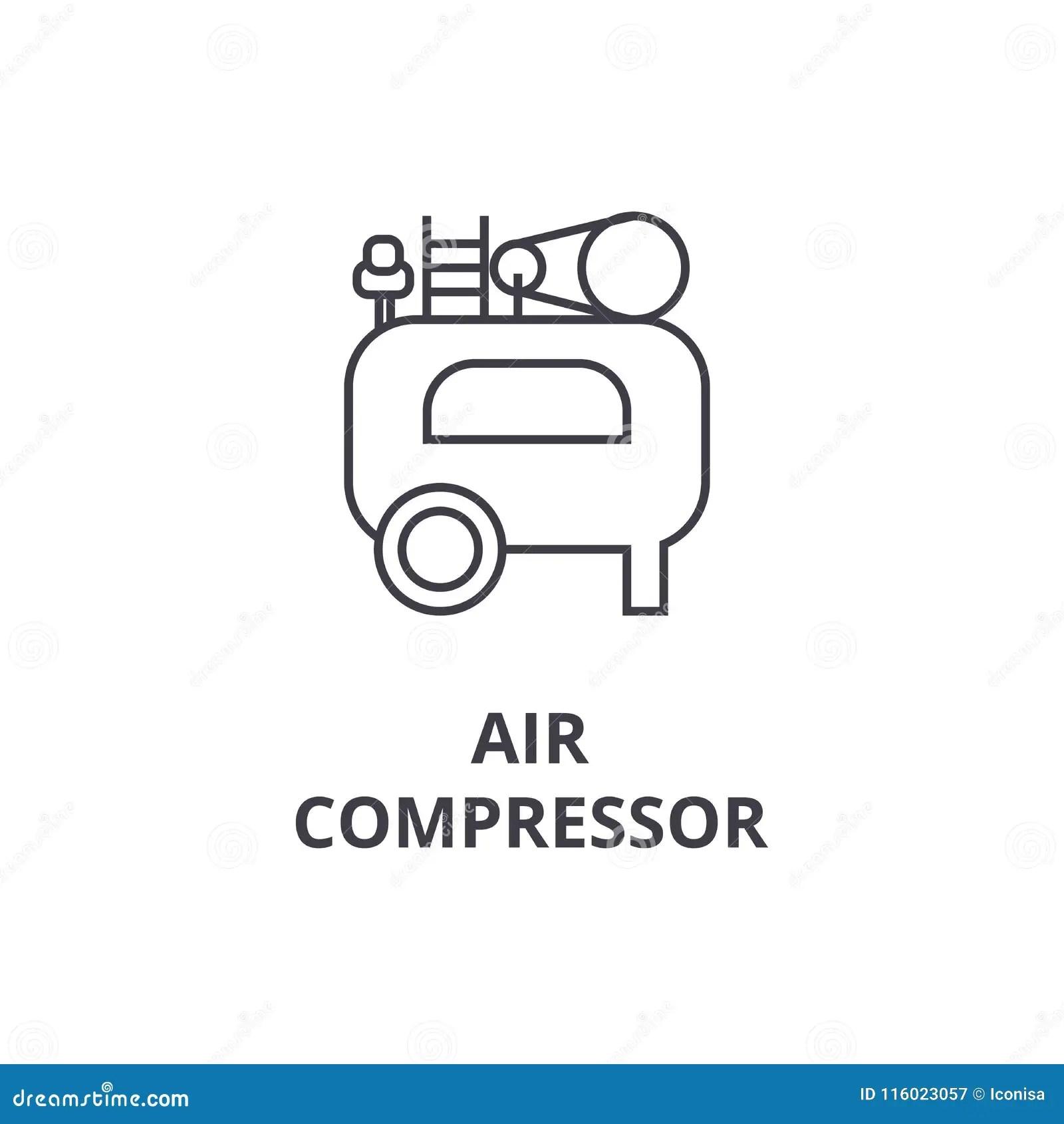 Schaltzeichen Kompressor