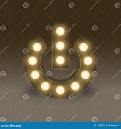 symbol incandescent light bulb box set power sign icon illustration retro 3d [ 1300 x 1390 Pixel ]