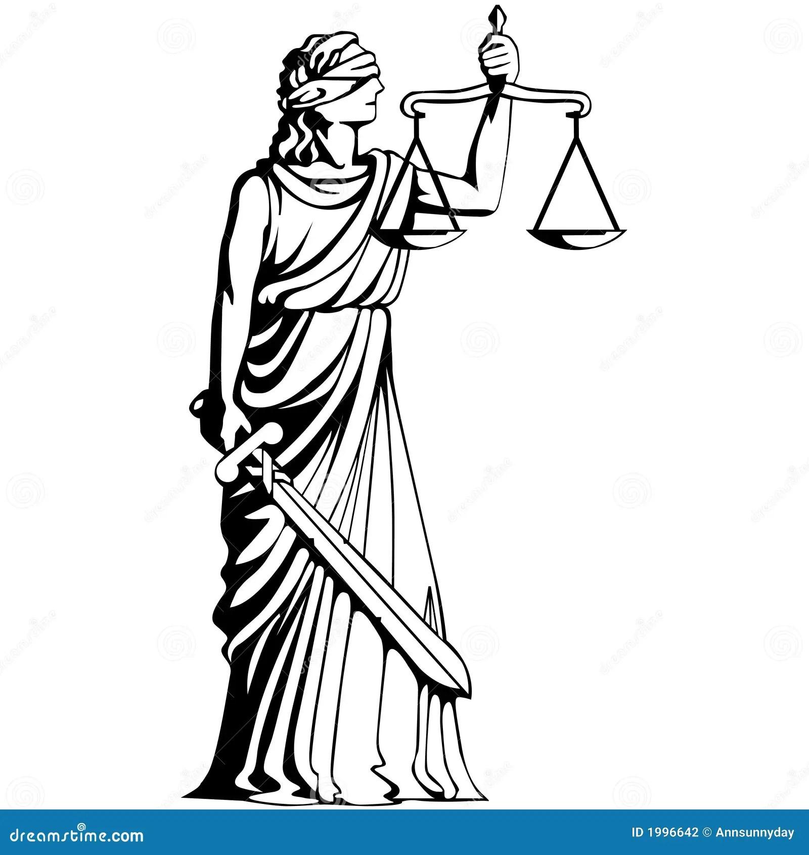 Symbol Of Judgement Stock Vector Illustration Of Wisdom