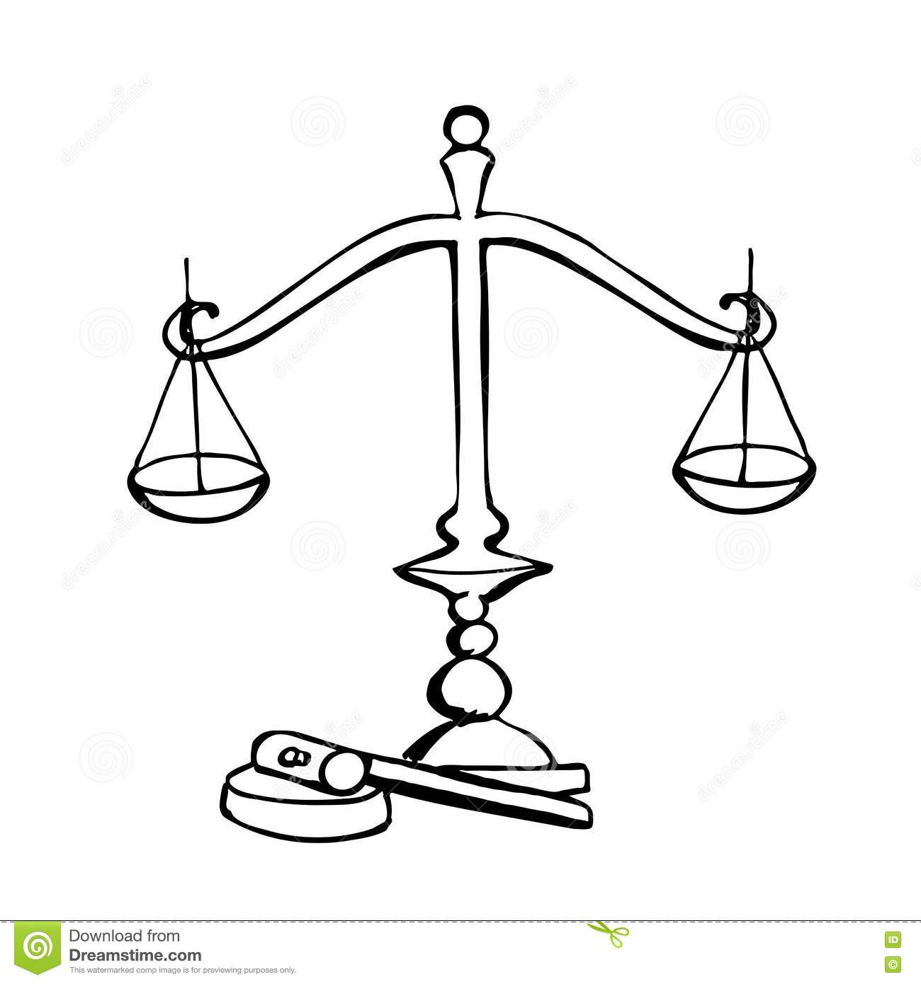 Cartoon Judge With A Gavel And Law Book Cartoon Vector