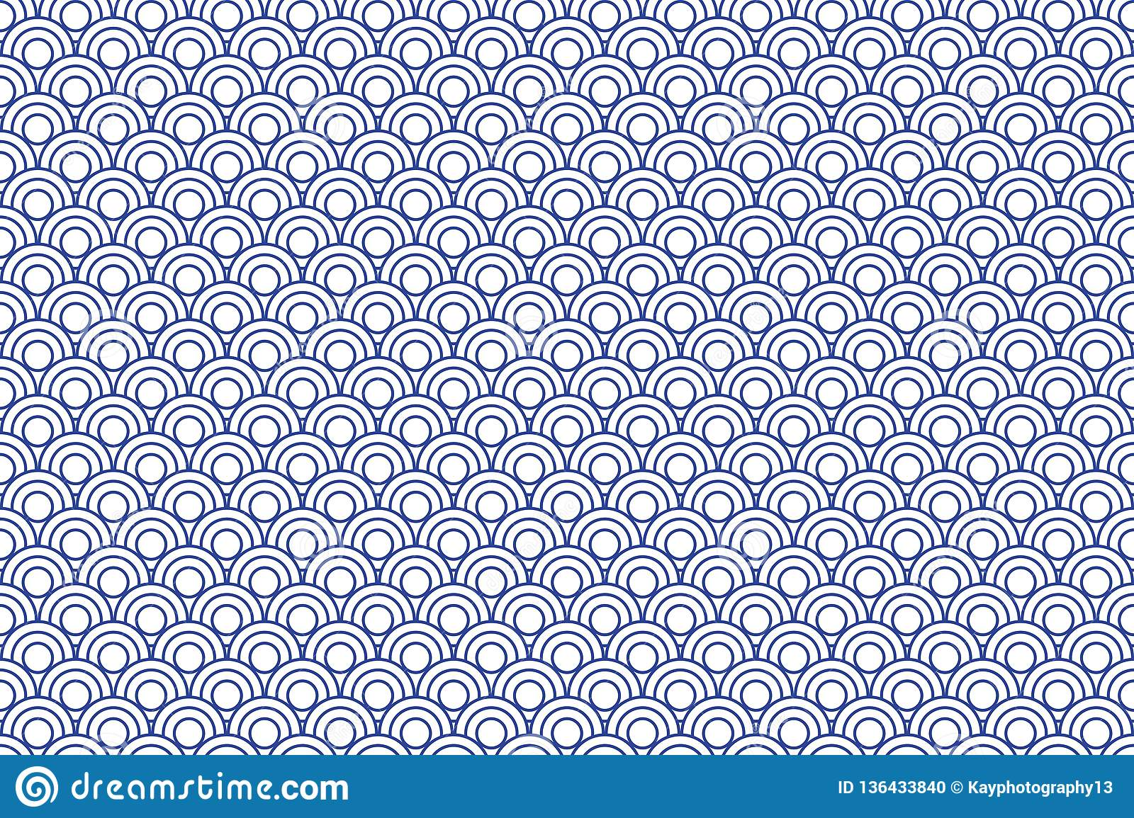 repeating blue pattern stock