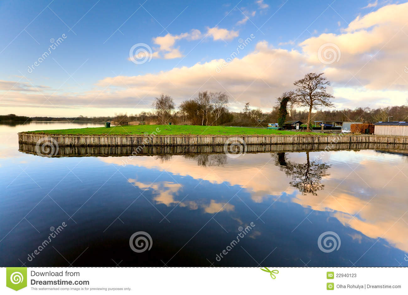 Symmetry And Reflection Stock Image Image Of Weather