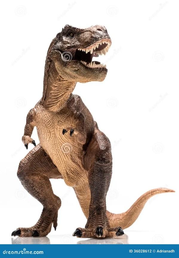 White T-Rex Dinosaur