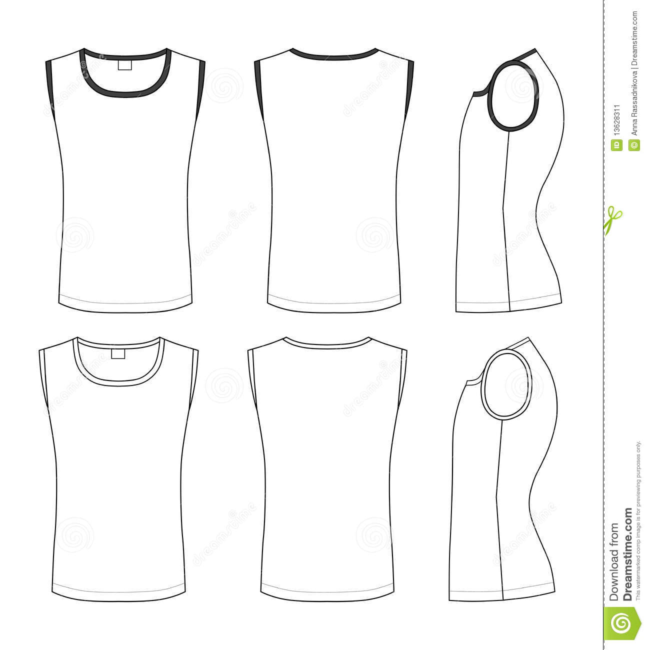 T Shirt Illustration Stock Vector Illustration Of Store