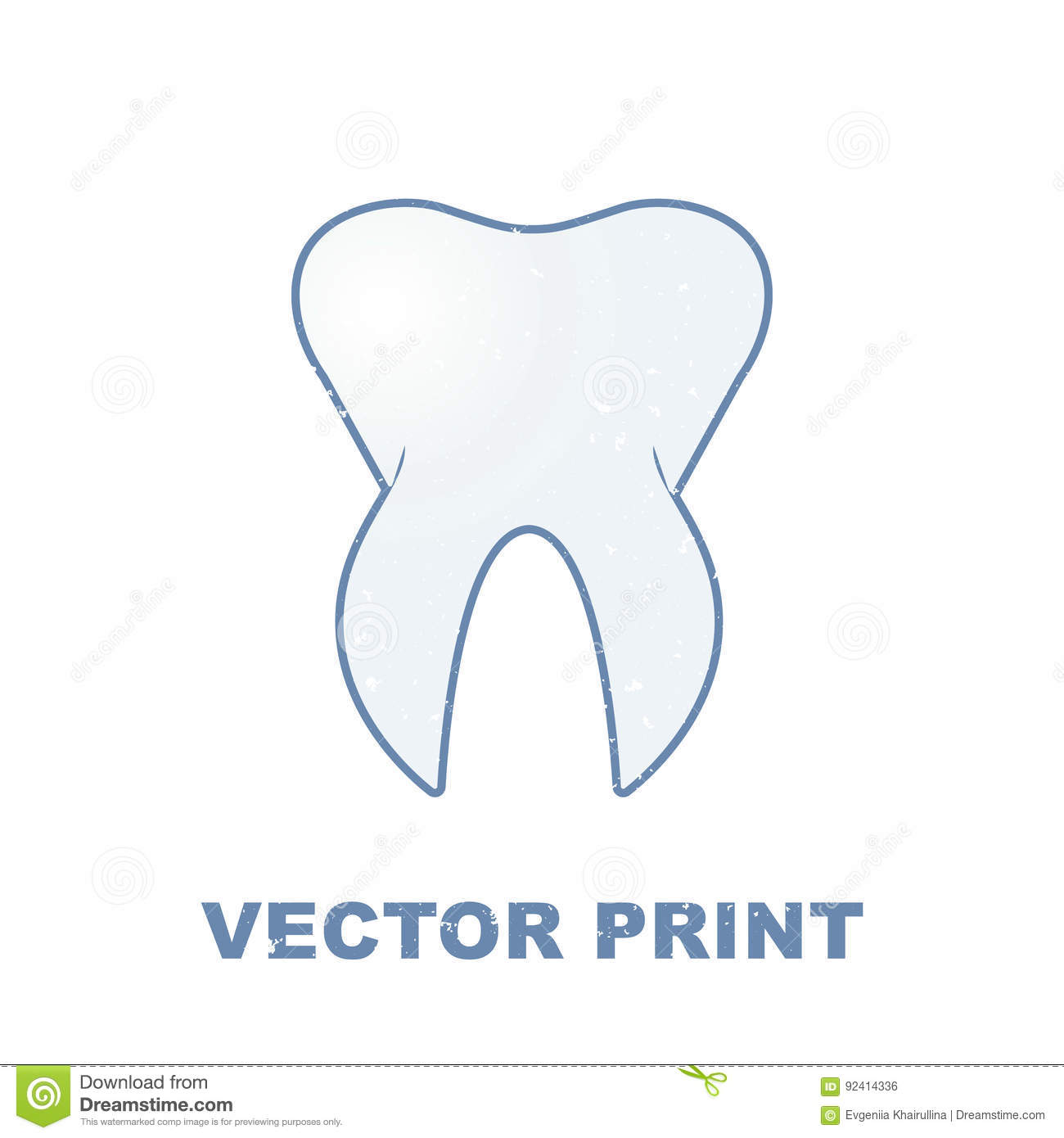 hight resolution of t shirt print with the tooth for a dental clinic can be used for