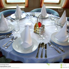Kitchen Plates Set Second Hand Units Table Appointments Stock Photos - Image: 1231723