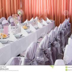Restaurant Chairs For Less Foam Flip Chair Bed Table Set An Event Party Or Wedding Reception Stock Photos - Image: 33661543