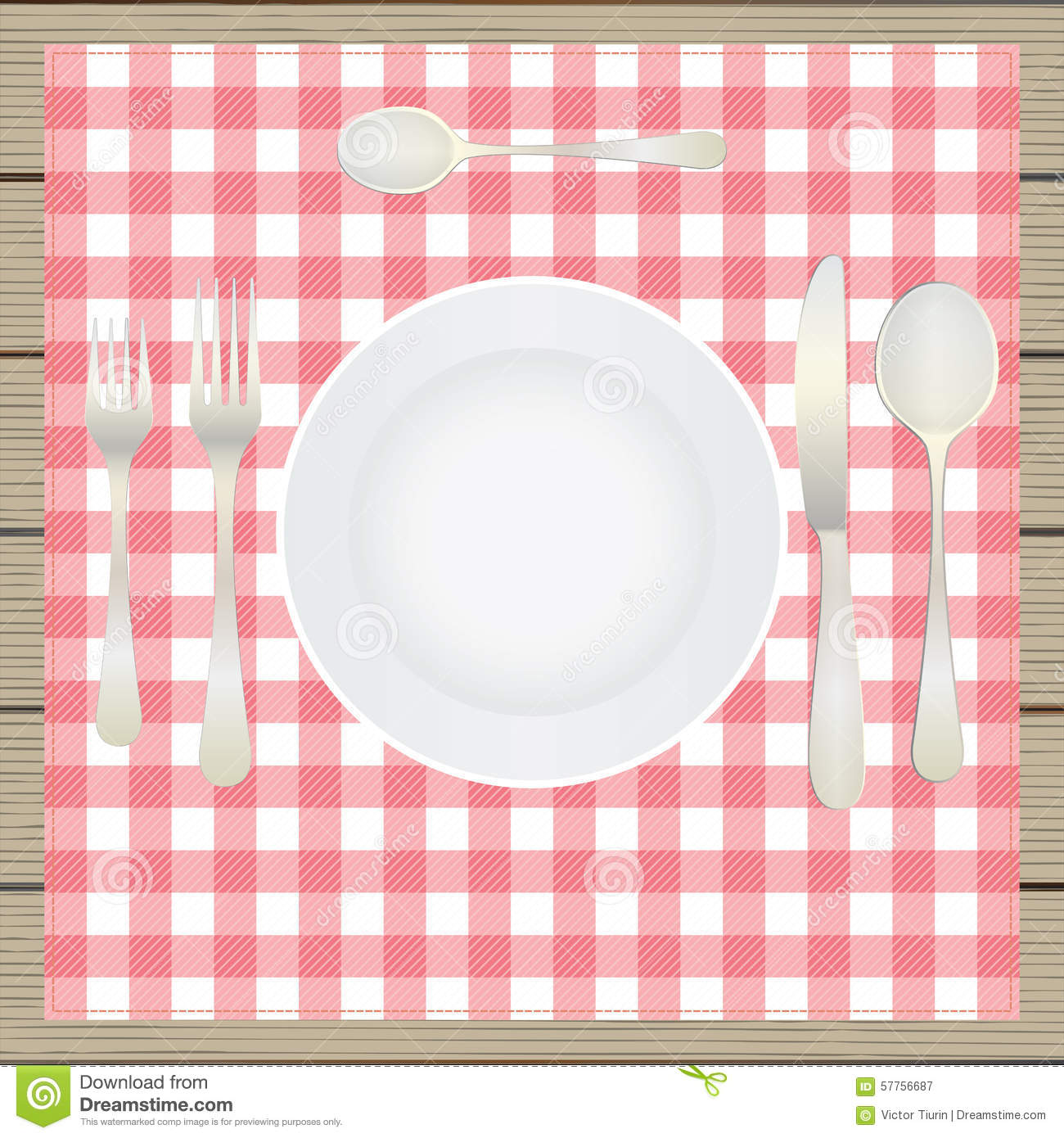 Table Setting Etiquette Plate Fork Spoon Knife Table