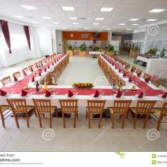 U Shaped Chair Arrangement Reception Area Seating Chairs Table Setting Stock Photo Image 41695857