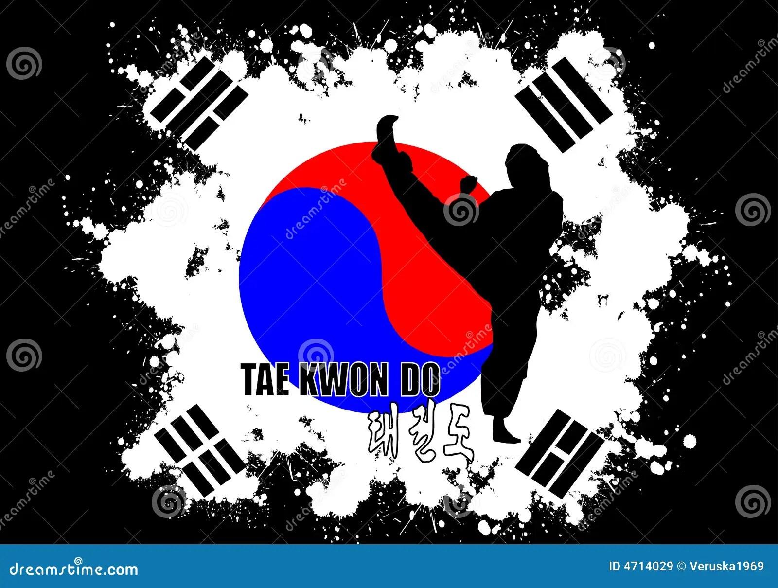 Taekwondo Itf Wallpaper 3d Taekwondo Immagini Stock Libere Da Diritti Immagine 4714029