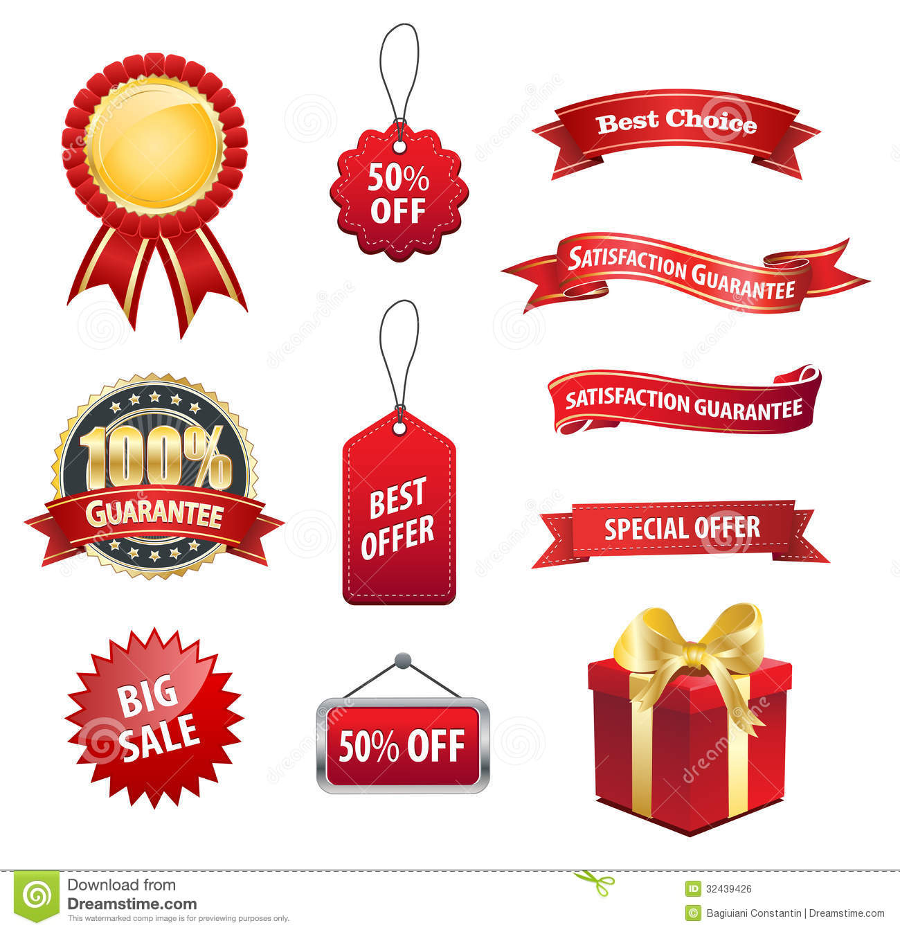 Tag Label Sale Sticker stock vector. Illustration of card - 32439426