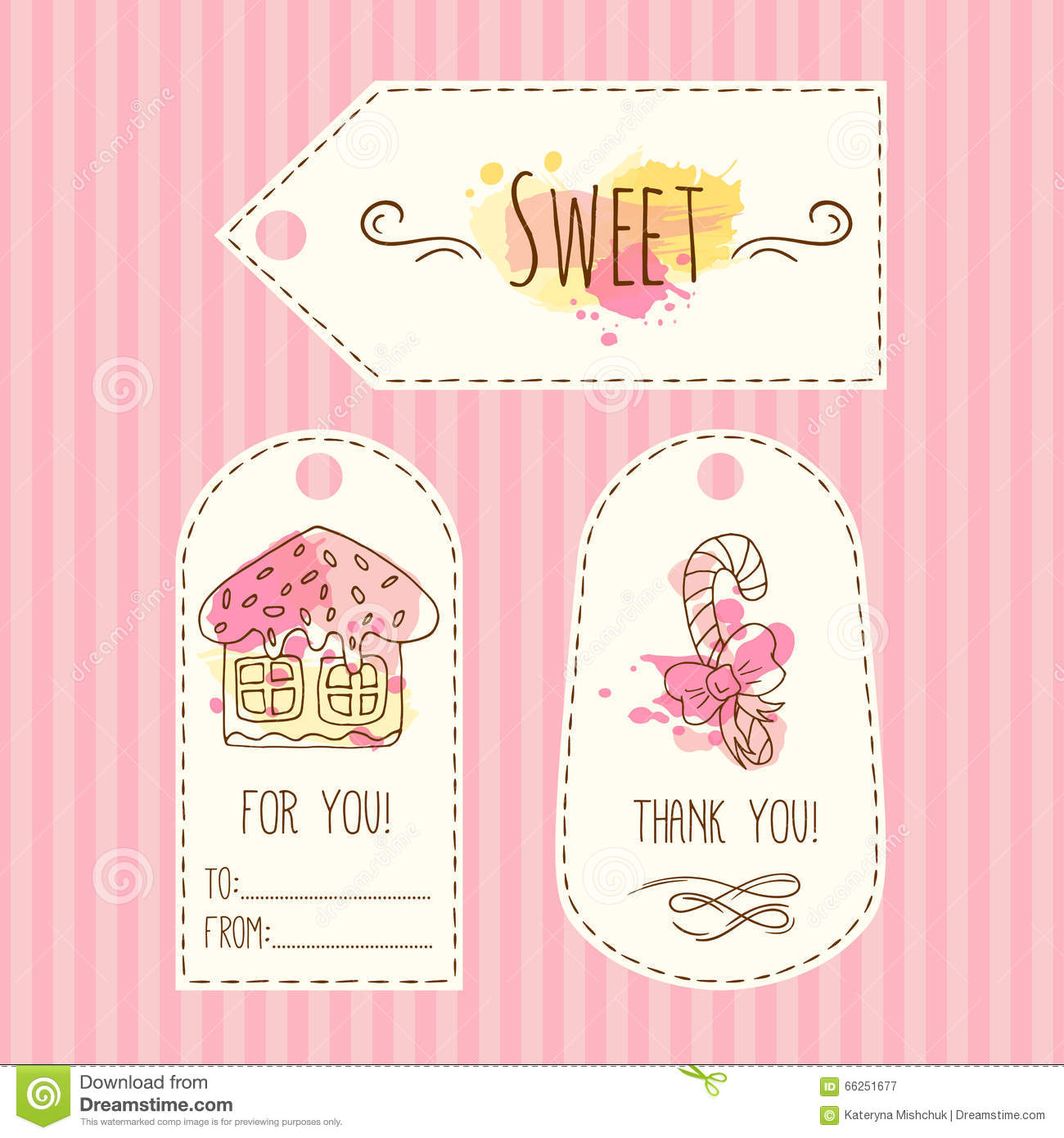 800+ vectors, stock photos & psd files. Tags With Cookie Illustration Vector Hand Drawn Labels Set With Watercolor Splashes Sweet Vector Ginger House Stock Vector Illustration Of Cream Pastry 66251677
