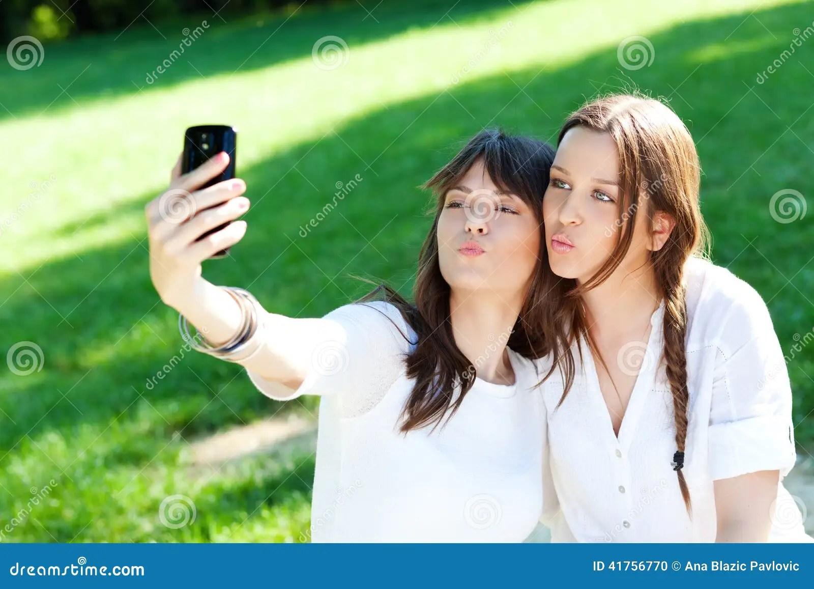 Taking Selfie Stock Photo Image 41756770