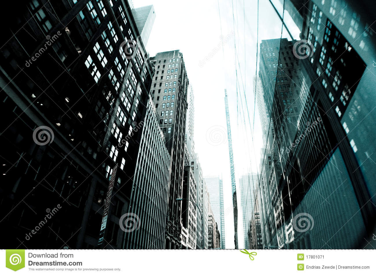 Tall Buildings New York City Stock Image Image 17801071