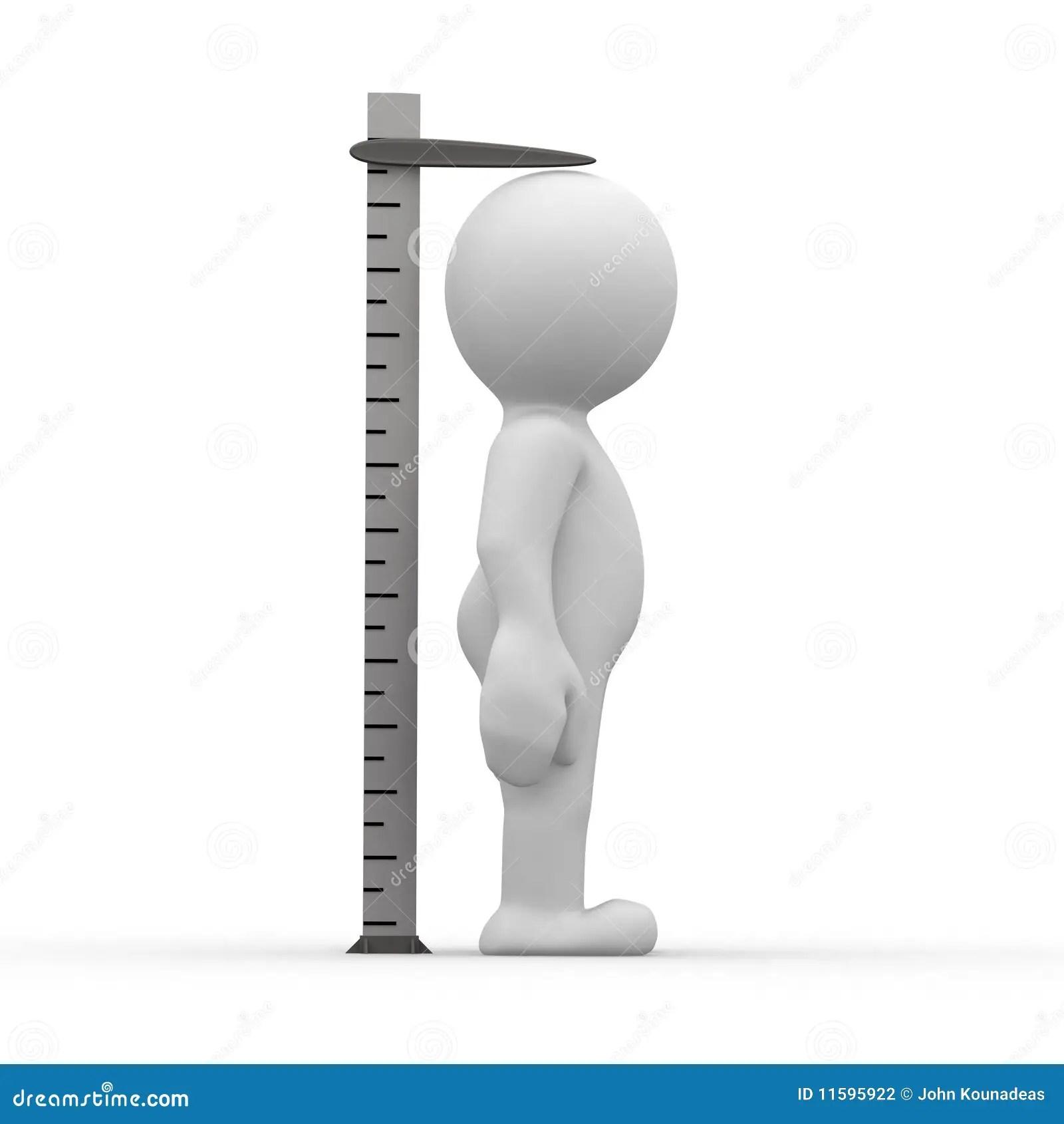 Tall Ruler Stock Illustration Illustration Of Cute