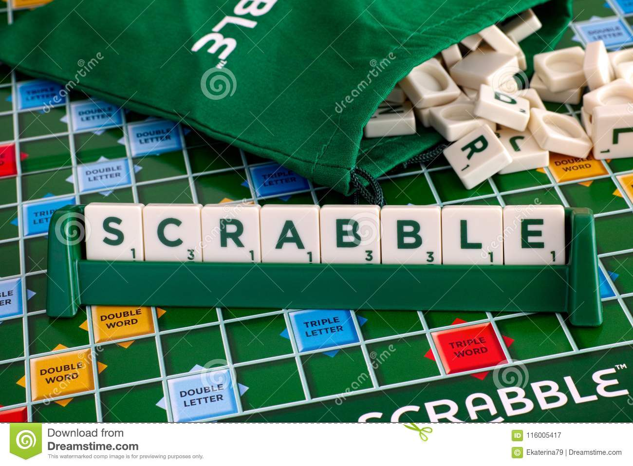 https www dreamstime com tambov russian federation may scrabble board game word scrabble letter tiles tile rack gameboard drawstring letter image116005417