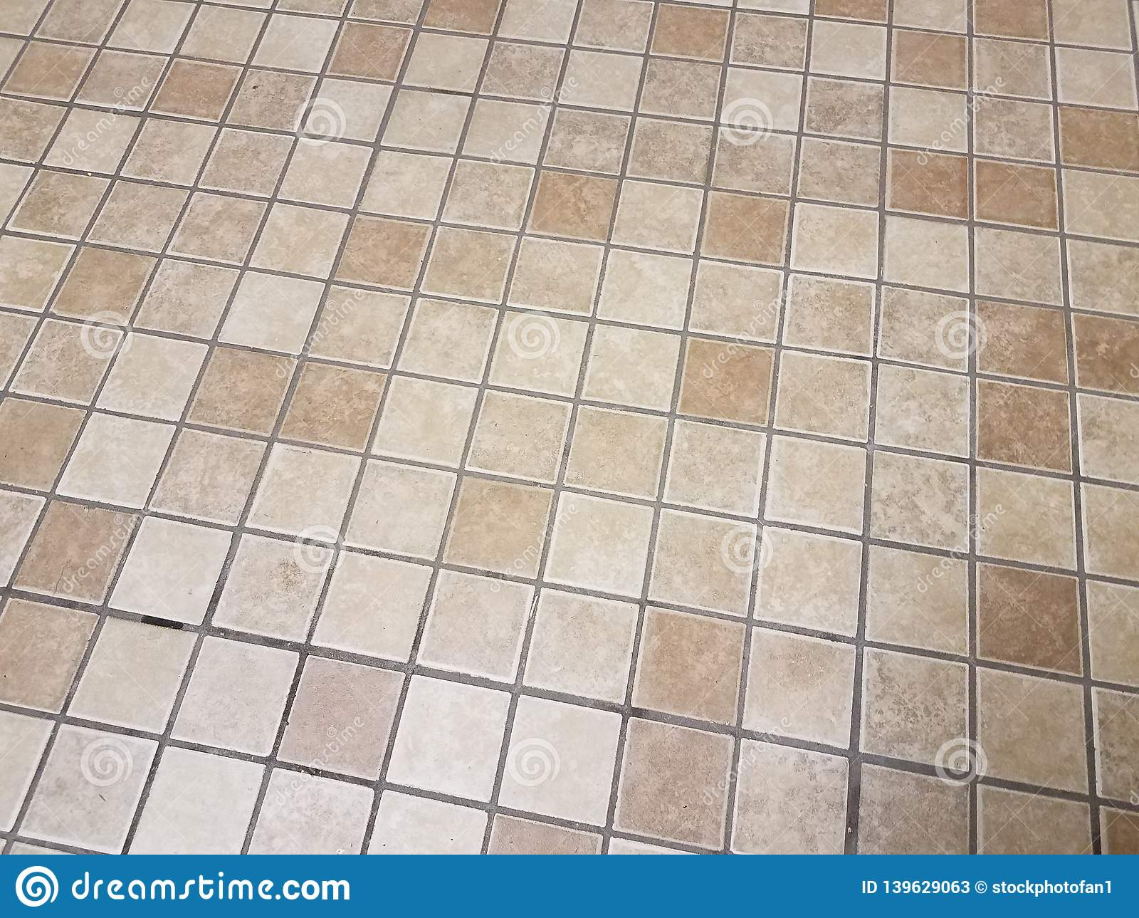 https www dreamstime com tan brown square bathroom tiles floor surface image139629063