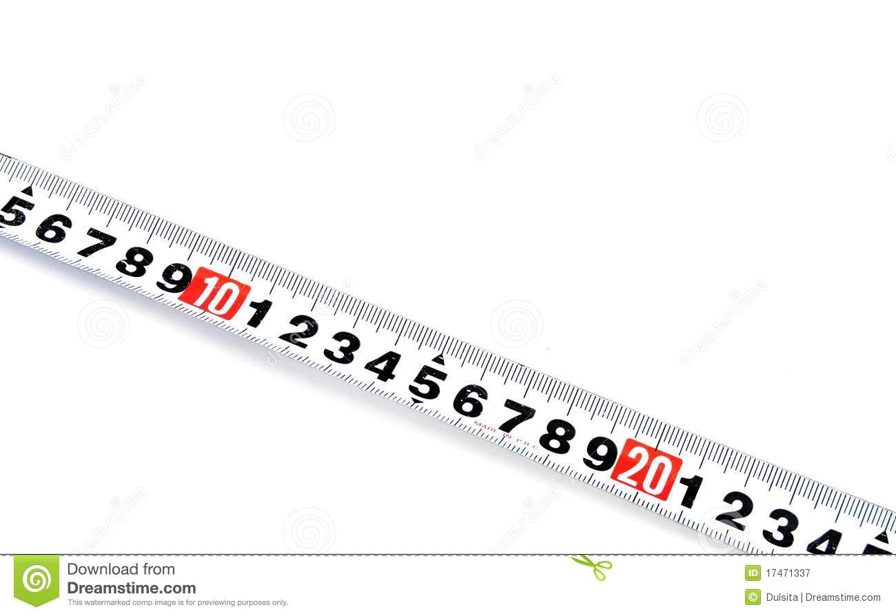 Tape measure stock image. Image of tape, object