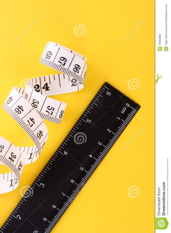 Tape Measure And Ruler Royalty Free Stock