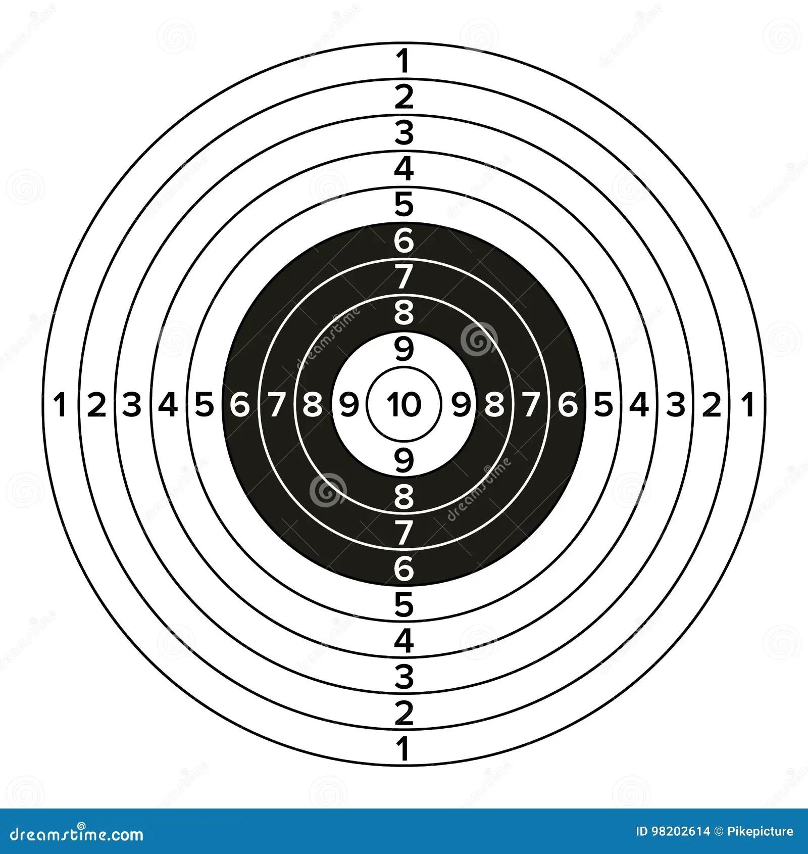 Shooting Target Bitten Apple Royalty Free Stock