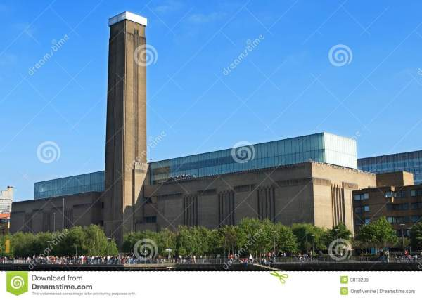 Tate Modern Royalty Free Stock - 3813289