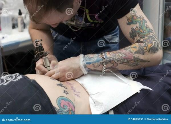 Tattoo Artist Work Saint-petersburg