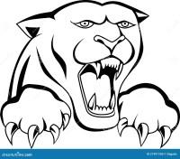 Tatuaggio Capo Della Tigre Fotografia Stock - Immagine ...