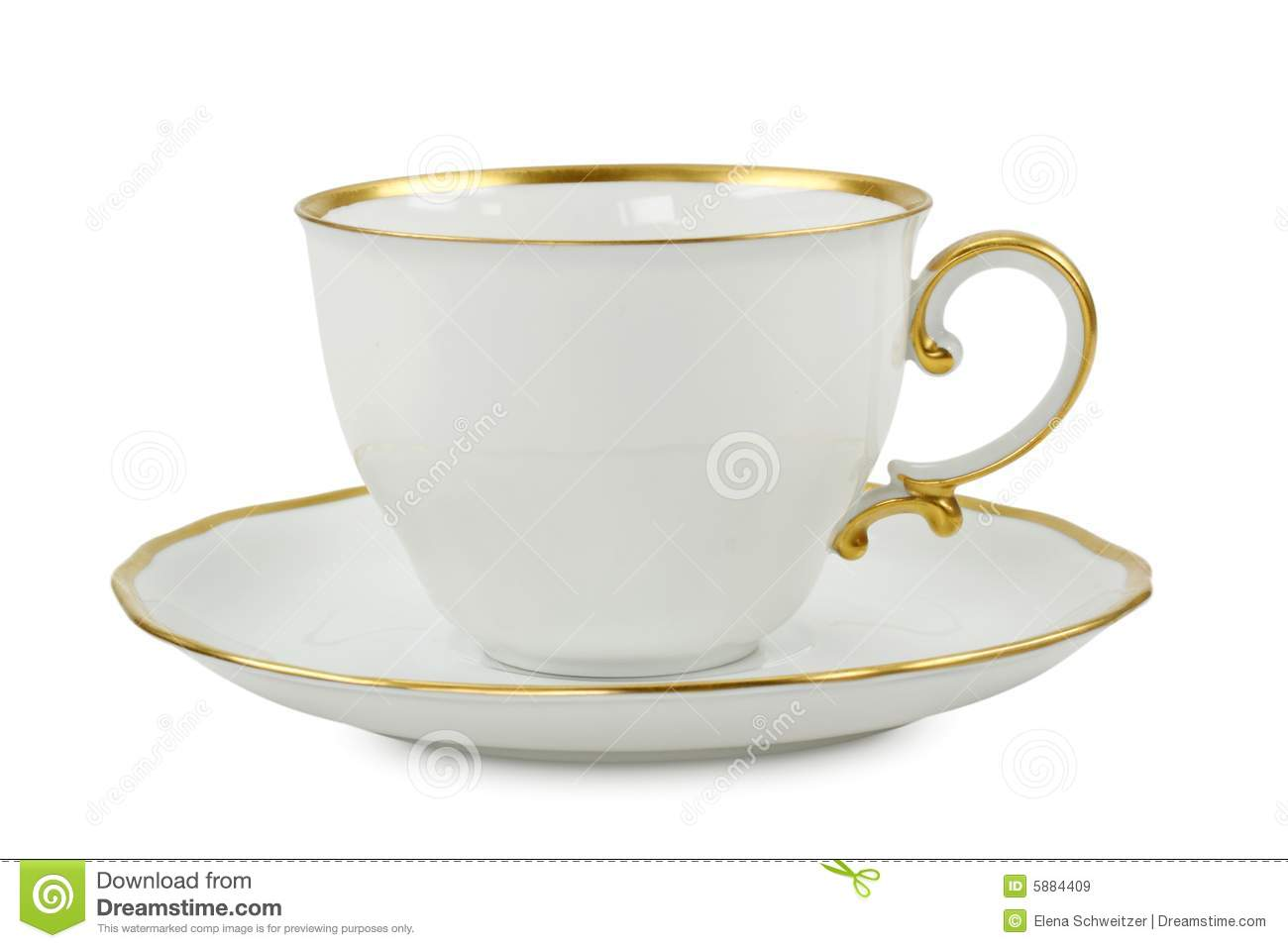 tea cup with plate