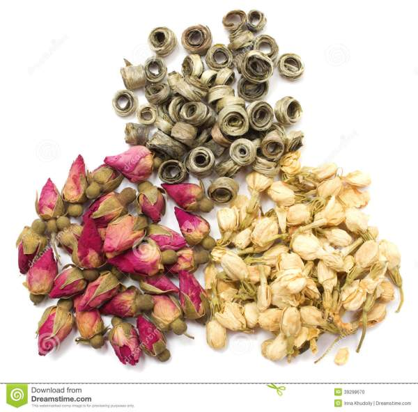 Tea And Dried Flowers Stock Photo Image 39298670