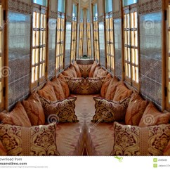 Living Room Prices Brown With Blue Accents Tea In The Harem Stock Photo. Image Of Luxury, Front ...